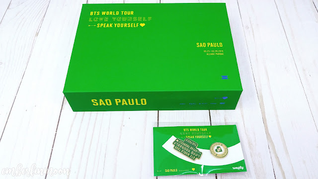BTS Speak Yourself Sao Paulo Brazil DVD Unboxing