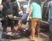 Homem é assassinado em plena luz do dia no Centro de Lago da Pedra
