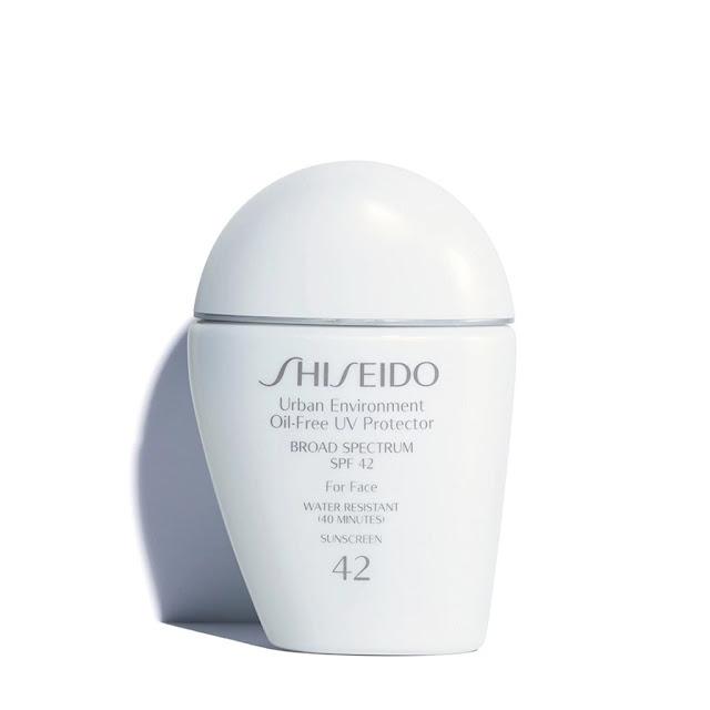 kem chong nang cho da dau mun Shiseido Urban Environment Oil – Free UV Protector