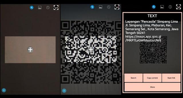 Cara Scan Barcode di HP 4