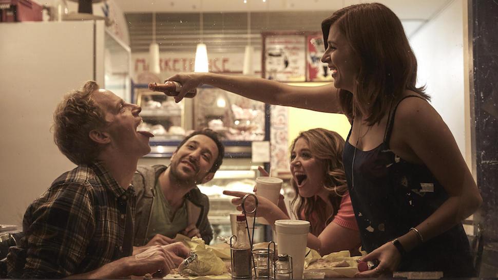 Chris Geere, Desmin Borges, Kether Donohue y Aya Cash en la comedia de FXX