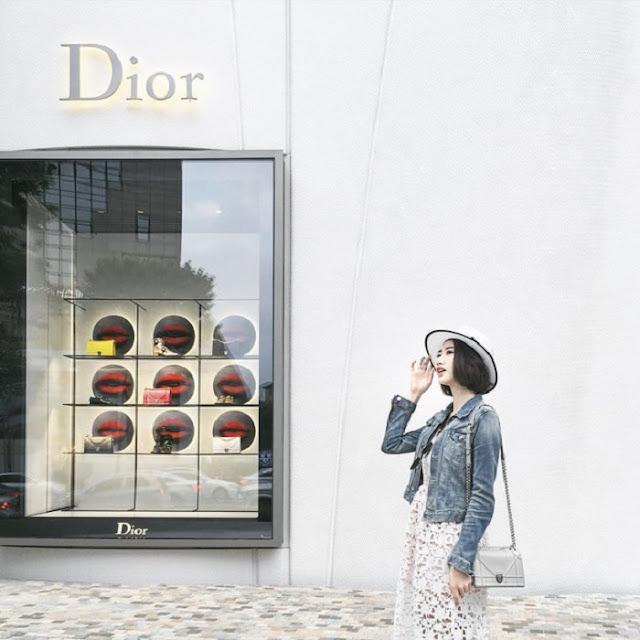 Quán nằm trong toà nhà House of Dior, trung tâm Seoul