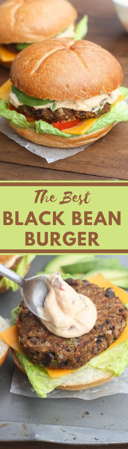 THE BEST BLACK BEAN BURGER #burger #vegan #easy #vegetarian #breakfast