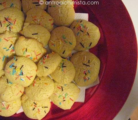 Biscottini al Limone Senza Burro