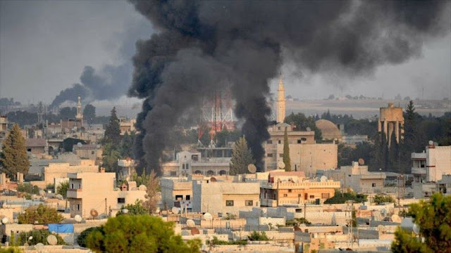 Turquía desmiente a EEUU: Atacamos a Siria por aire