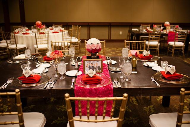 Wedding Reception in Trillium Room, Grand Californian Hotel