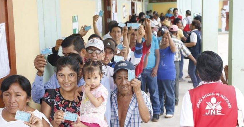 ELECCIONES 2017: Sin incidencias se desarrollan comicios ediles en nuevos distritos de Ucayali y Ayacucho - ONPE - www.onpe.gob.pe