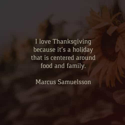 Thanksgiving quotes that inspire thoughts of happiness