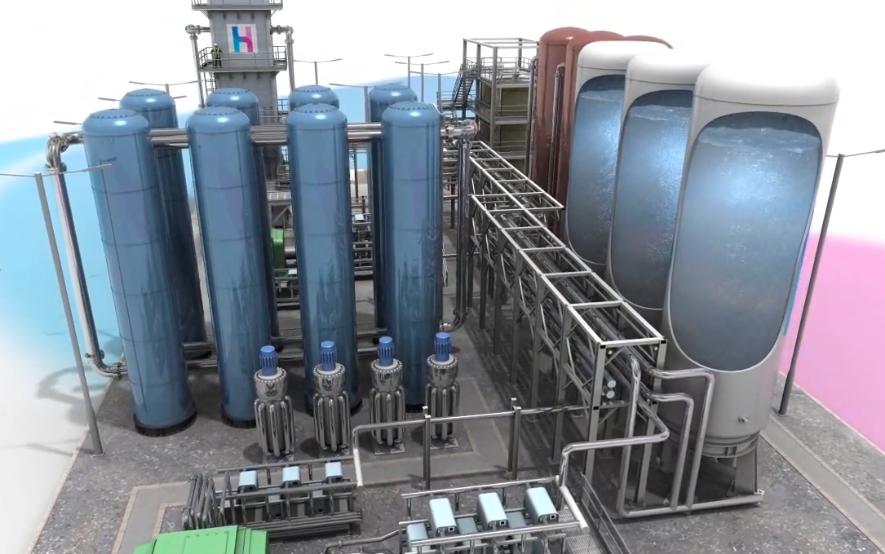 SCI-TECH : La plus grosse batterie à air liquide du monde en construction au Royaume-Uni