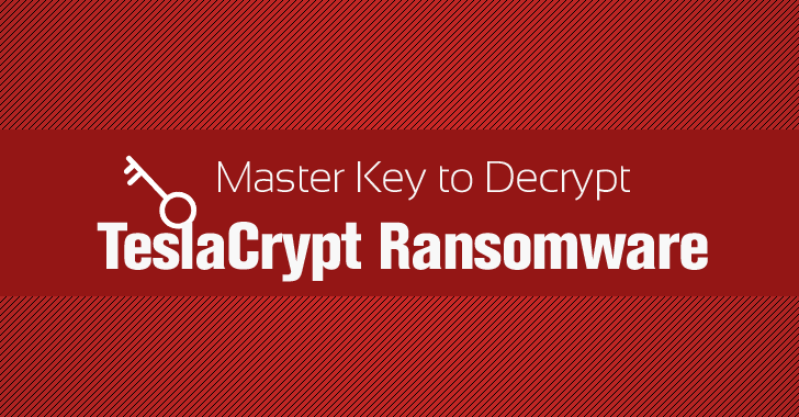 How to Decrypt TeslaCrypt Ransomware Files Using Master Key