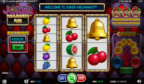 Main Gratis Slot Indonesia - Joker Megaways Microgaming
