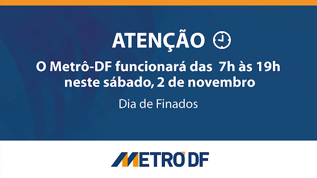 FOTO: METRÔ-DF