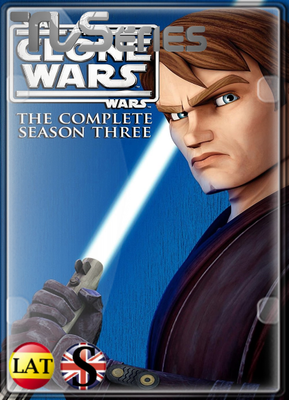 Star Wars: The Clone Wars (Temporada 3) HD 1080P LATINO/INGLES