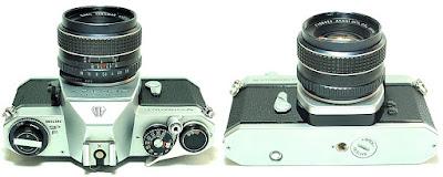 Asahi Pentax Spotmatic SP F (Chrome) Body #392, SMC Takumar 55mm F1.8 #923