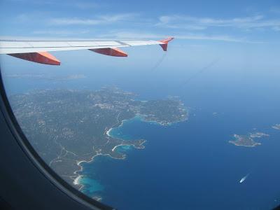 la Sardegna dall'alto