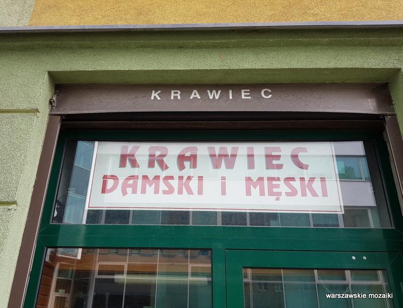 Warszawa Warsaw Wola Mirów szyldy warszawskie szyld retro