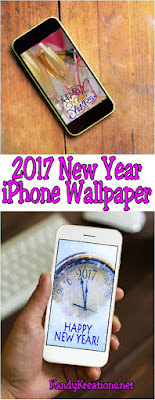 Decorate your iPhone for2017 with these fun wall paper freebies.Such a fun way to get ready for the New Year and celebrate new beginnings.
