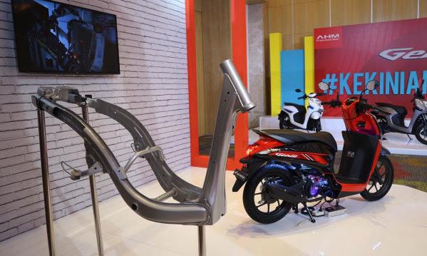 Rangka eSAF, Teknologi Rangka Tercanggih di Sepeda Motor Honda