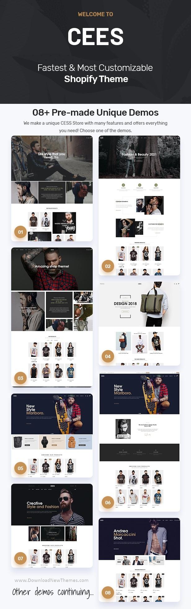Responsive Multipurpose Shopify Theme
