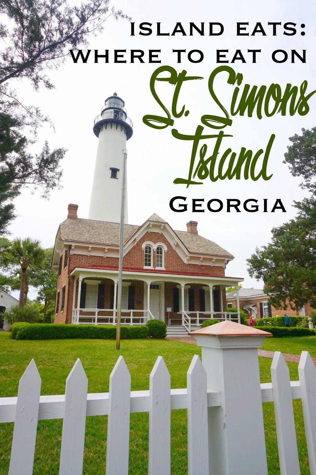 Island Eats Where To Dine On St Simons Island Georgia