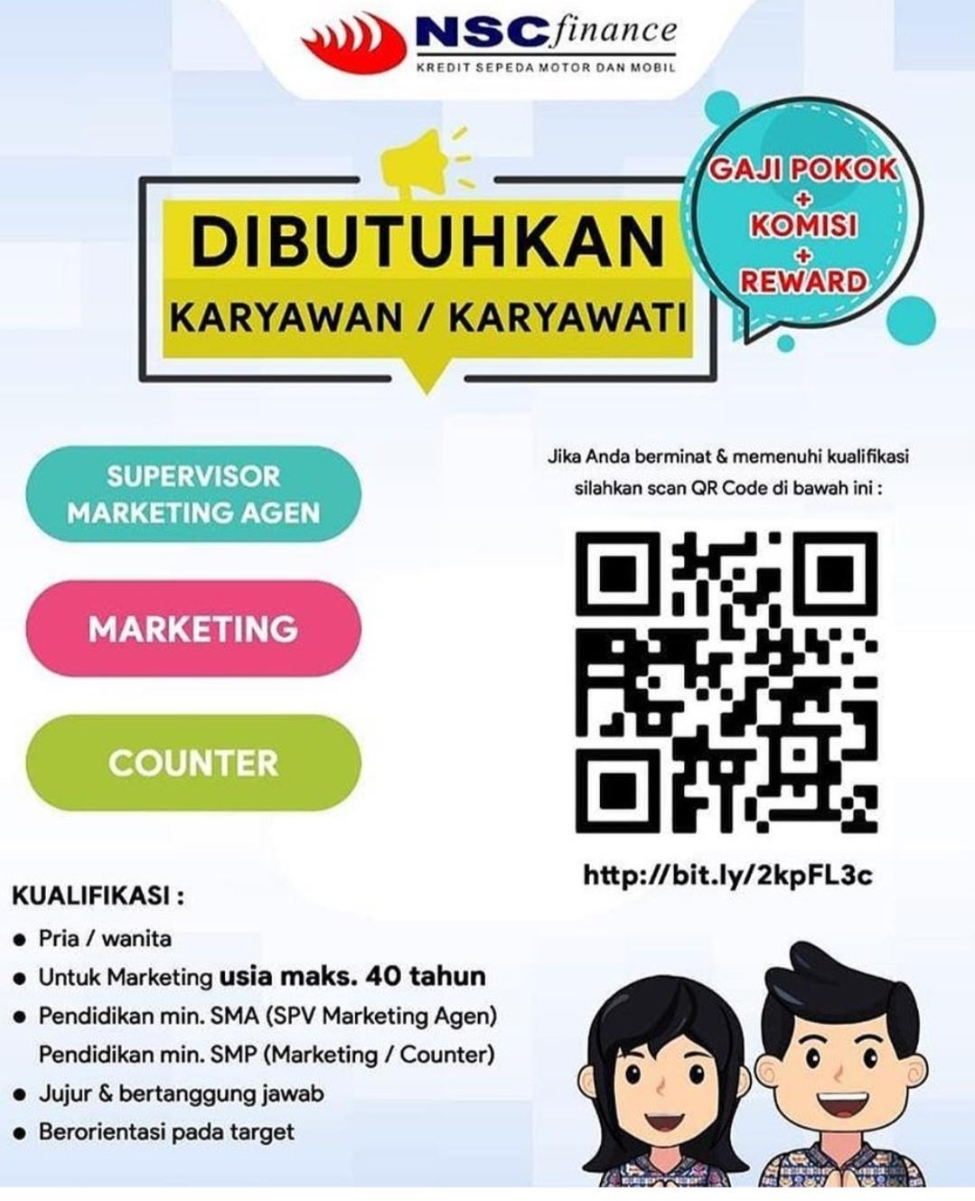 Lowongan Kerja Medan November 2020 Smp Sma Smk Pt Nusantara Surya Sakti Nsc Finance