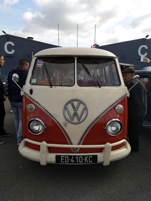 Combi Volkswagen T1 Samba de 1972