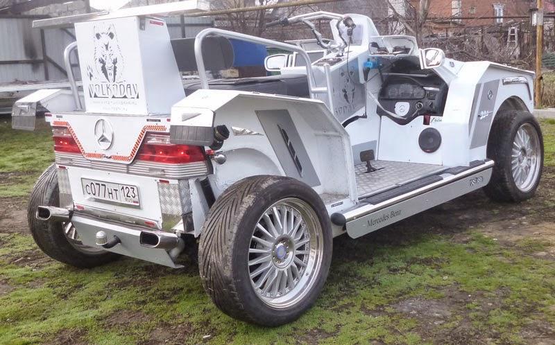 на Волкодав установлена резина с Audi Q7