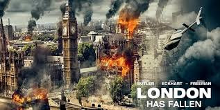 Película Londres bajo fuego