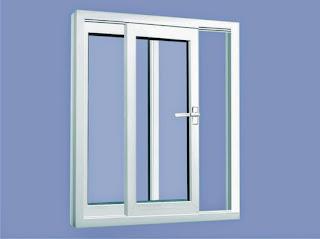 Model Pintu Kaca dengan Aluminium