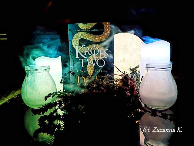 """Plemienna magia i pożerające dusze demony - """"Królestwo dusz"""" Reny Barron [KRÓLESTWO DUSZ #1] *Zuzanna*"""