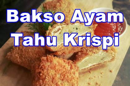 Resep Bakso Ayam Tahu Goreng Krispi Mantap