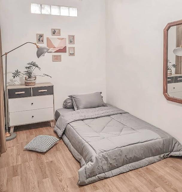 Desain Kamar Tidur Kecil tanpa Ranjang Terbaru