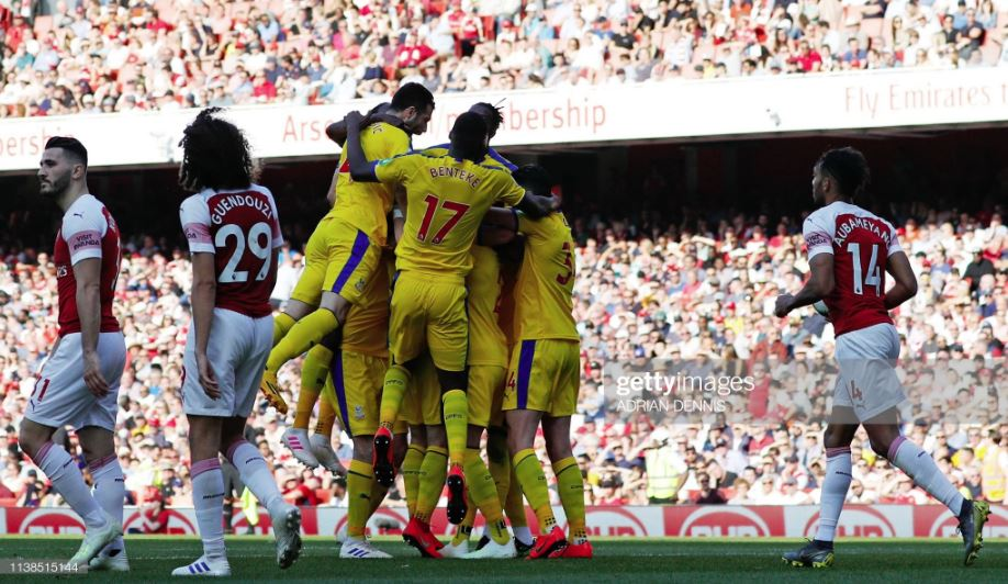 Arsenal - Crystal Palace 2: 2 England Premier League