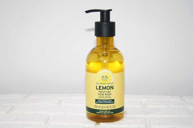 The Body Shop Purify and Protect with the Lemon Routine