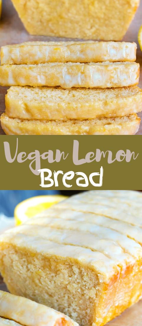 Vegan Lemon Bread #food #lunchrecipe #vegan #vegetarianrecipe #easyrecipe