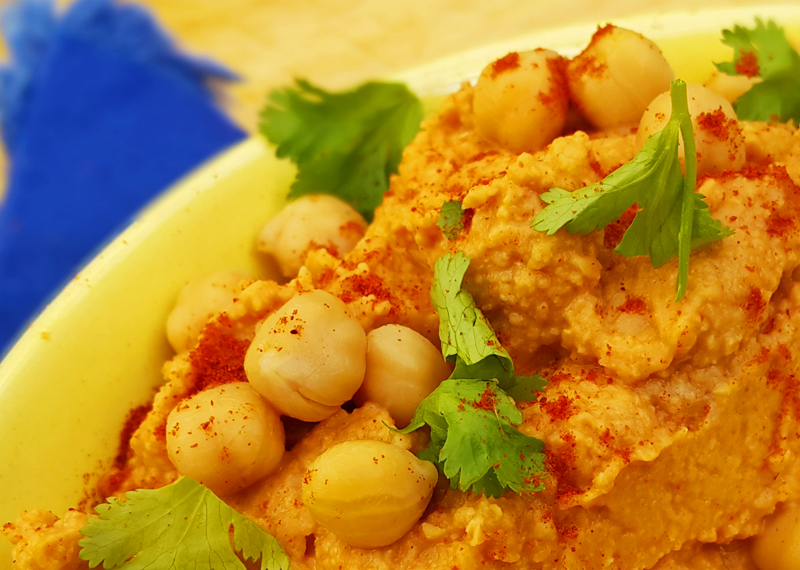 Tangy And Spicy Hummus Recipe