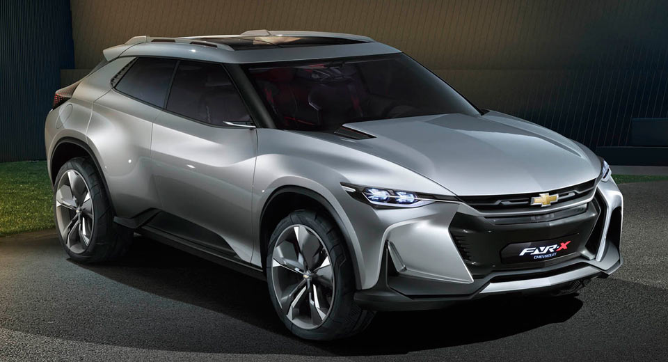Chevrolet FNR-X Concept Looks Ready To Kill Jaguar F-Pace