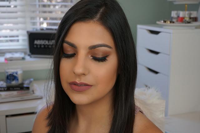 Anastasia Beverly Hills Modern Renaissance eyeshadow palette makeup look