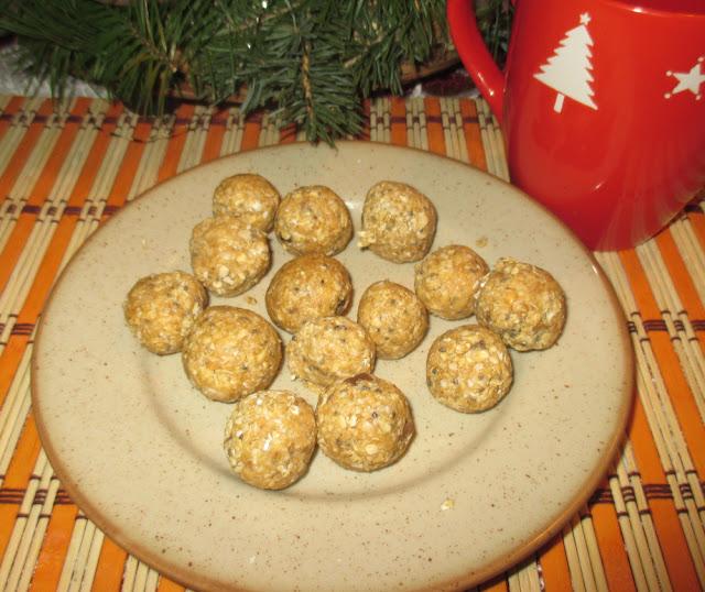 zdravý recept arašídové kuličky