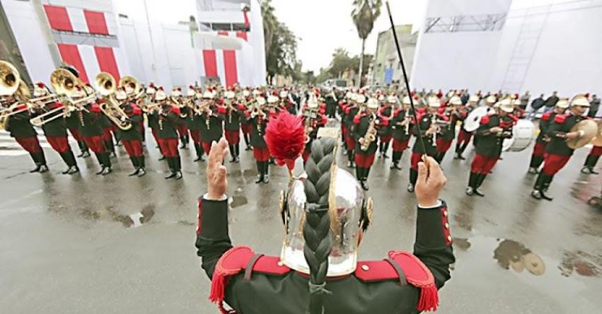 DESFILE CÍVICO - MILITAR 2018: Todo listo para la Gran Parada Militar por Fiestas Patrias en la avenida Brasil [EN VIVO]