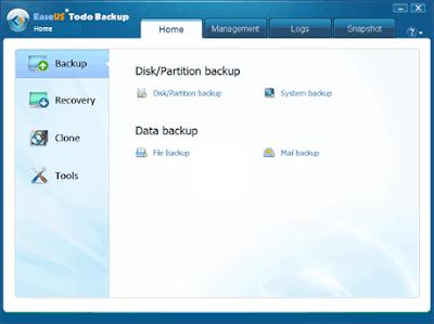 تحميل برنامج عمل نسخة احتيايطة للويندوز Todo Backup Home 2020