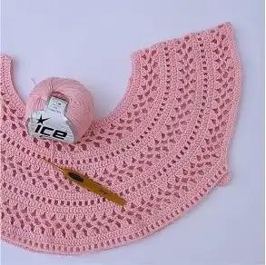 Jersey Primavera Verano a Crochet