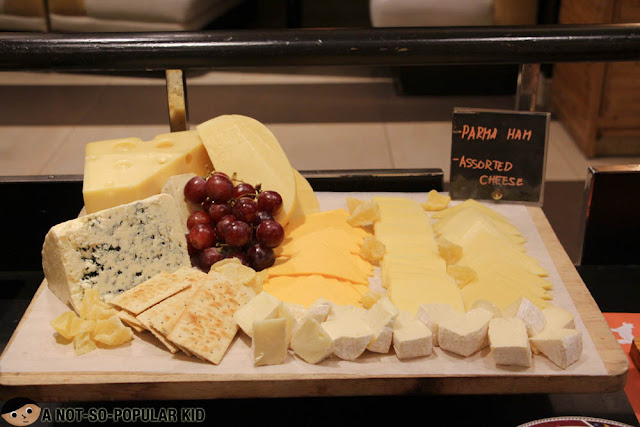 Cheese station in Hotel Jen's Latitude