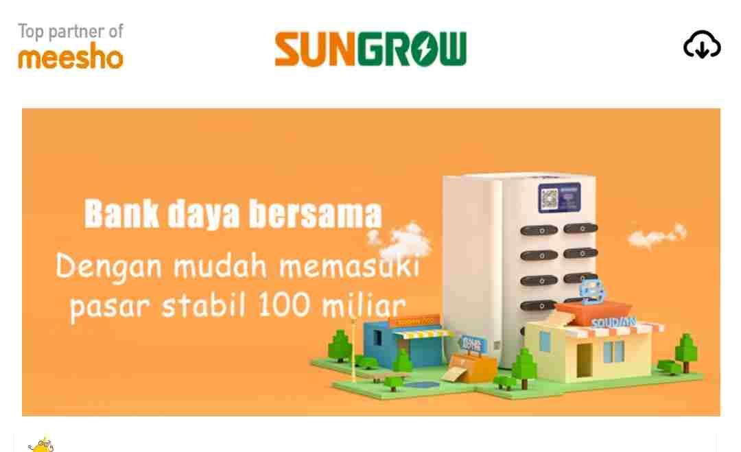 Download the Sungrow Energi Apk Money-Making Application, Register Bonus Rp.45,000, Is it Safe?  See More ...