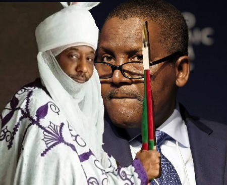 Emir Sanusi and Dangote