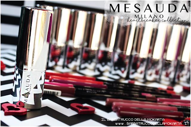 makeup review heartbreaker lipstick, rossetto matt , matt lipstick , mesauda