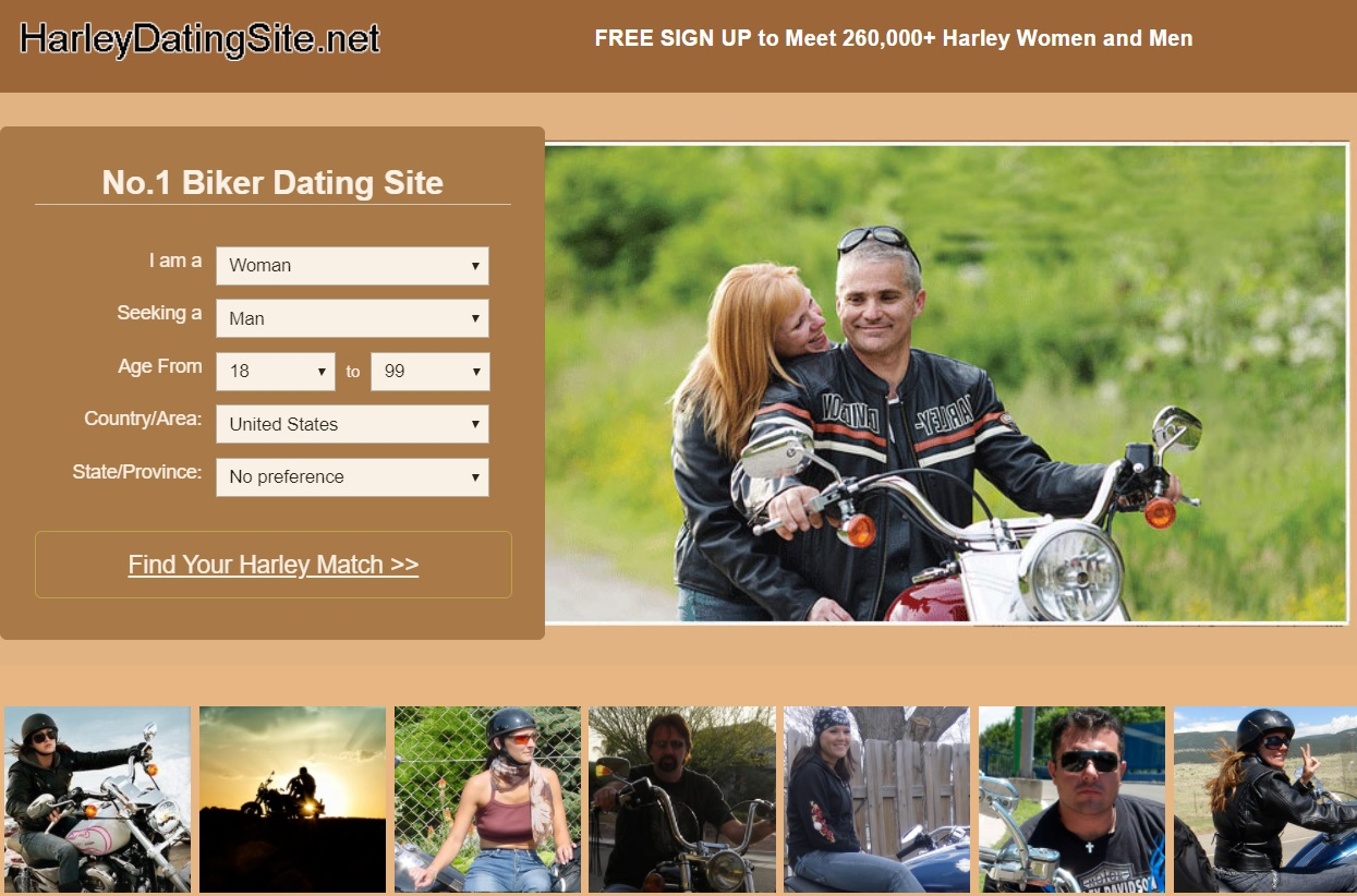 Harley dating site