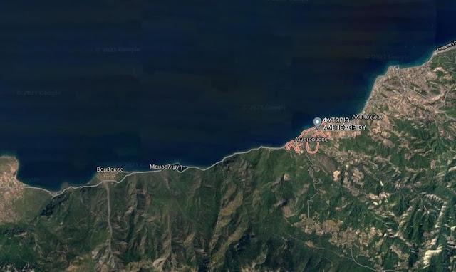 112: Έκτακτη ανάγκη για άμεση εκκένωση των οικισμών Αιγειρούσες - Ντουράκος στο Σχίνο Λουτρακίου