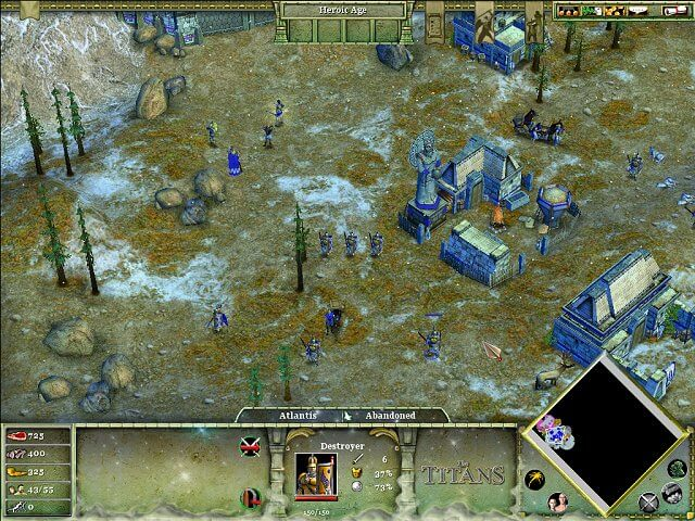 تحميل لعبة Age of Mythology The Titans