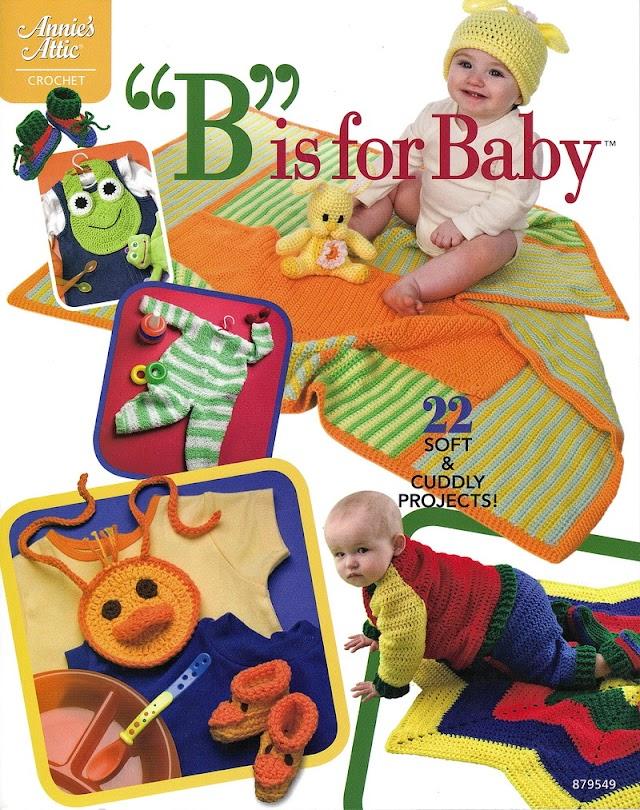 Bis For Baby -Revista Croché Bebês